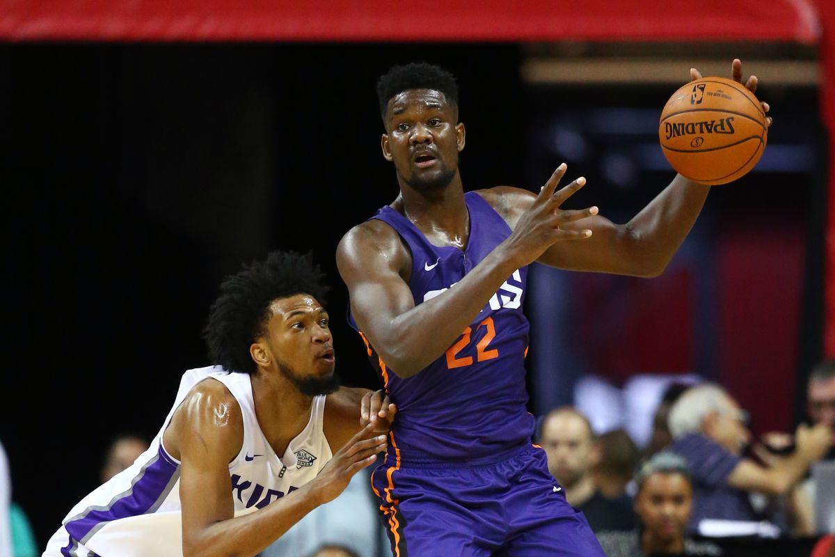 separation shoes 584cd 992b6 Deandre Ayton buys house for mother after signing rookie ...