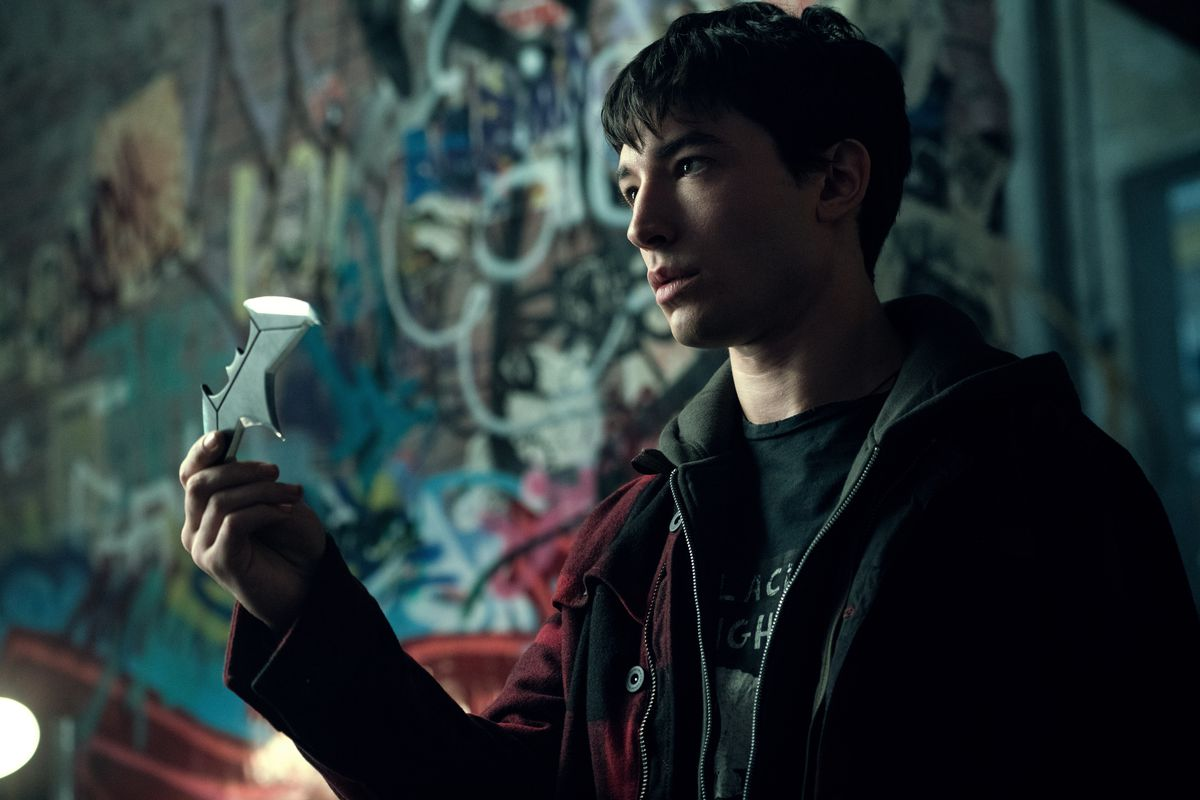 Ezra Miller as Barry Allen/The Flash in Justice League