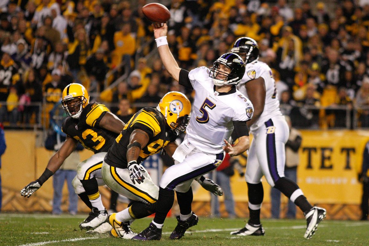 45f71bf60 Baltimore Sun links former Steelers James Harrison with AFC North rival  Ravens