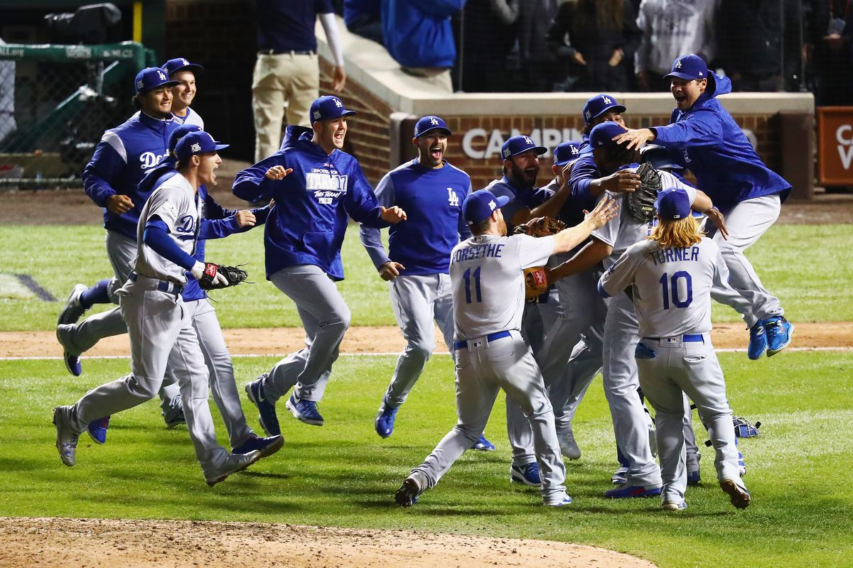 huge selection of a0a98 2c944 Dodgers make their first World Series since 1988 and a lot ...