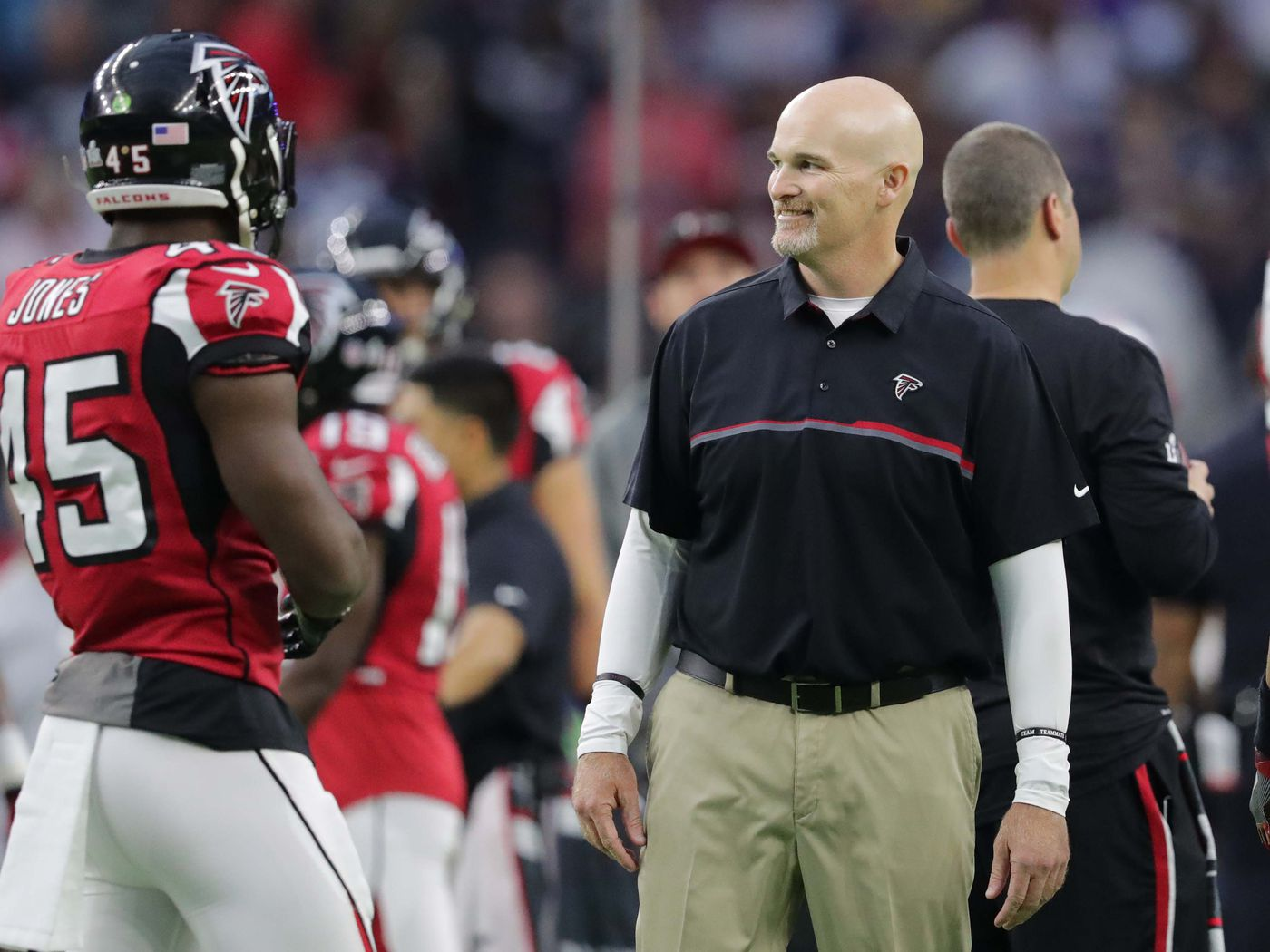 Falcons Fast And Physical Identity Starts With Dan Quinn Sbnation Com