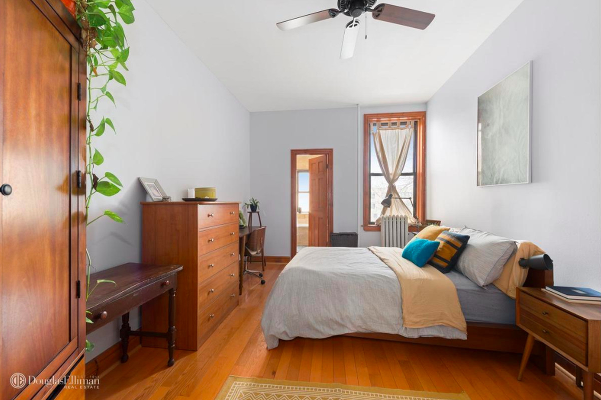 How much for a prewar bed stuy condo with modern updates curbed ny for Two bedroom apt in bed stuy area