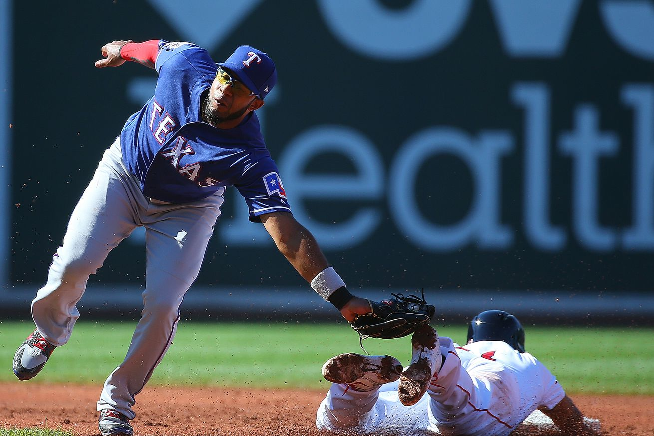 36-31 - Rangers run out of rallies, fall 4-3 to Red Sox