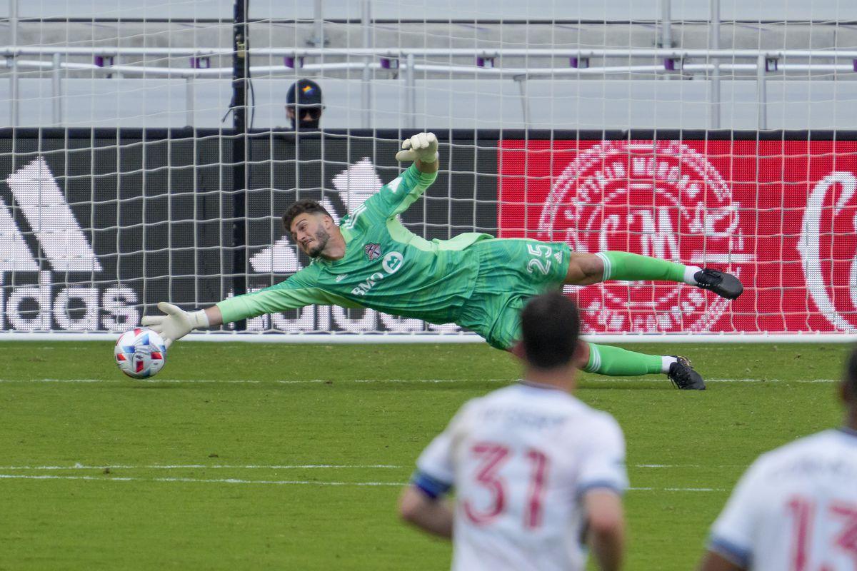 SOCCER: APR 24 MLS - Vancouver Whitecaps at Toronto FC