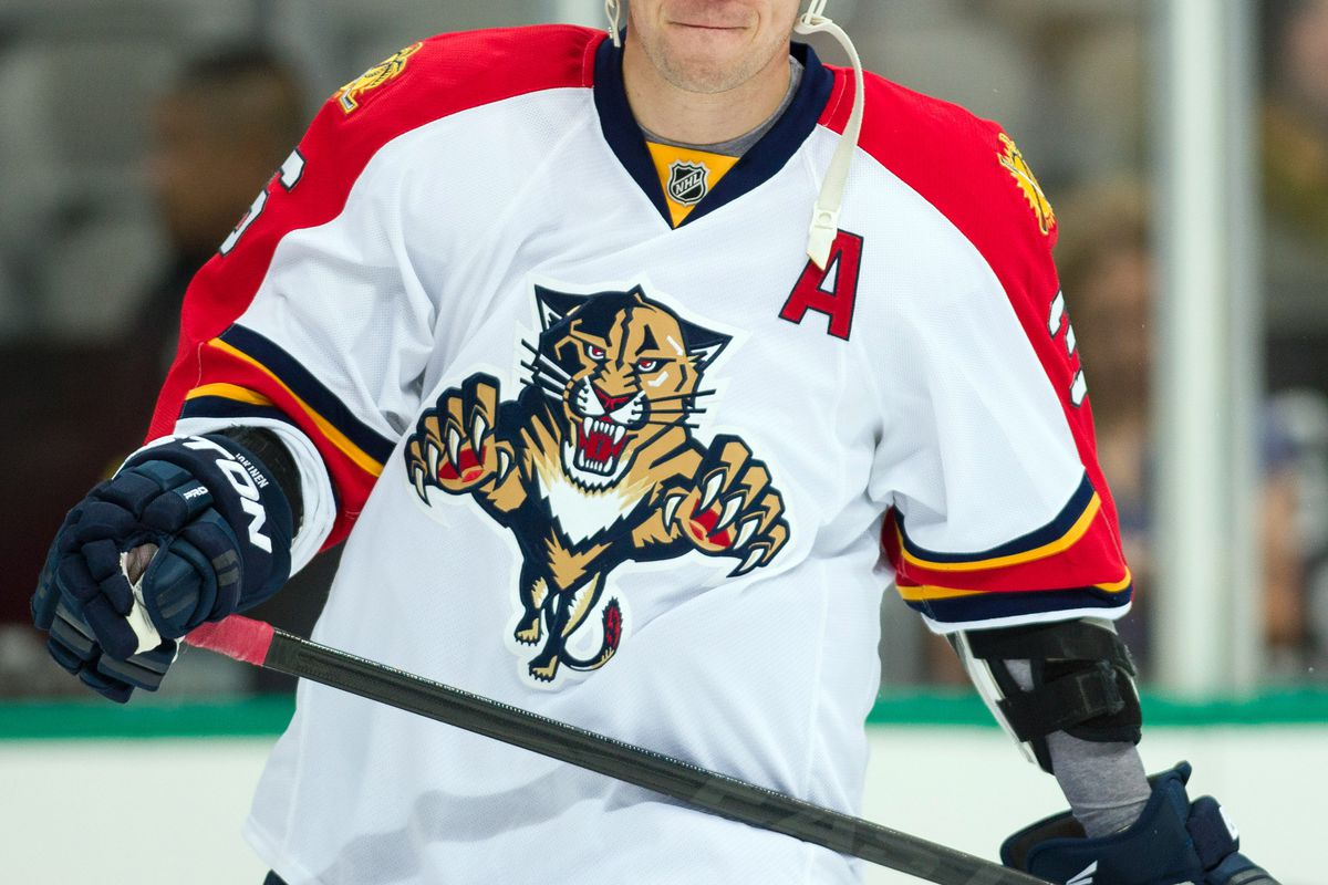 Former Hurricane, Jussi Jokinen, leads the Panthers with 12 points so far this season