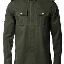 Images via GQ UK. Balmain x H&M shirt, £49.99 ($44.37 at current exchange)