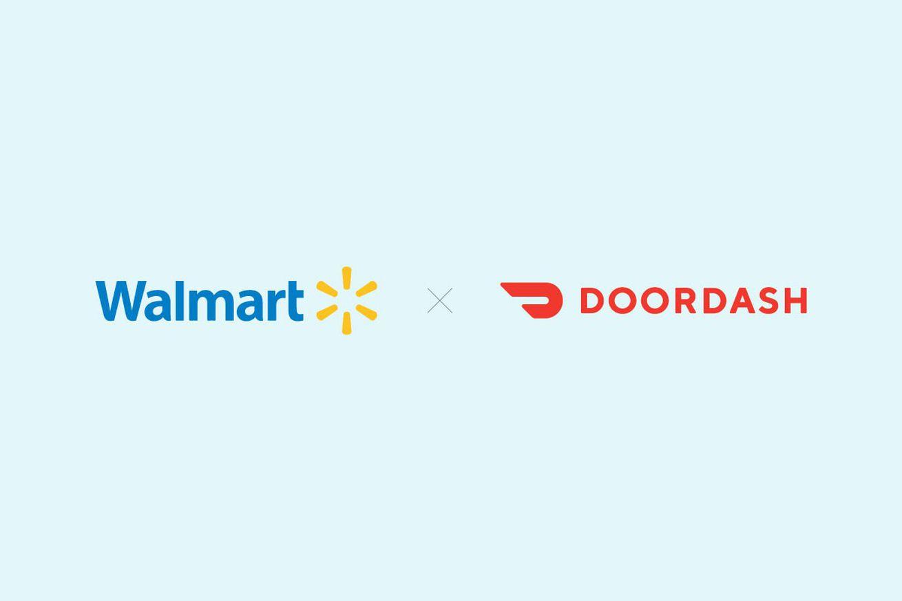walmart tests grocery deliveries via doordash