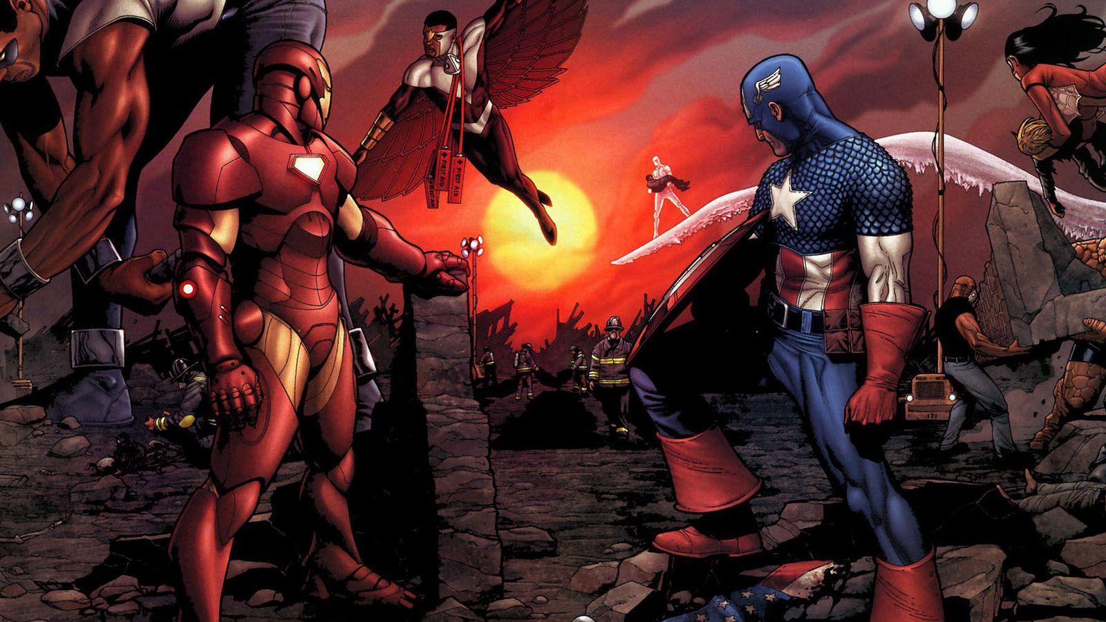 Marvel's Civil War in comics, explained | Polygon