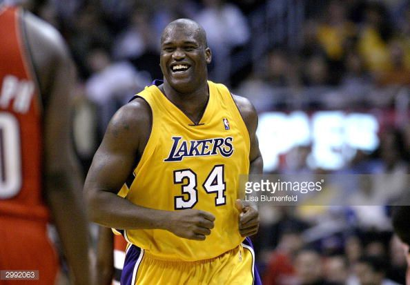7c5cc516e98 Lakers Season Countdown: 34 days, Shaquille O'Neal - Silver Screen ...