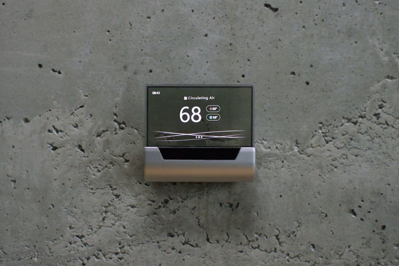 microsoft unveils preorders for the beautiful 319 cortana powered thermostat