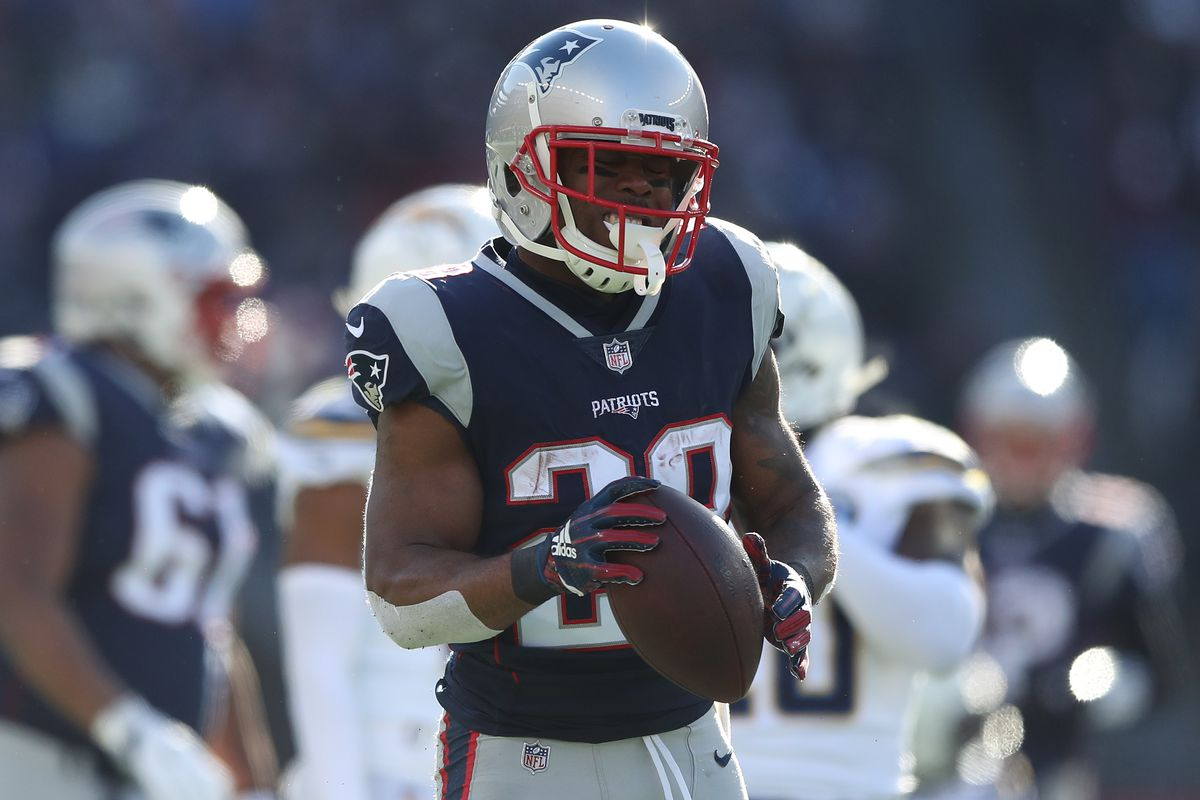 aba0d10f Patriots RB James White entering 2019 off the best season of his ...