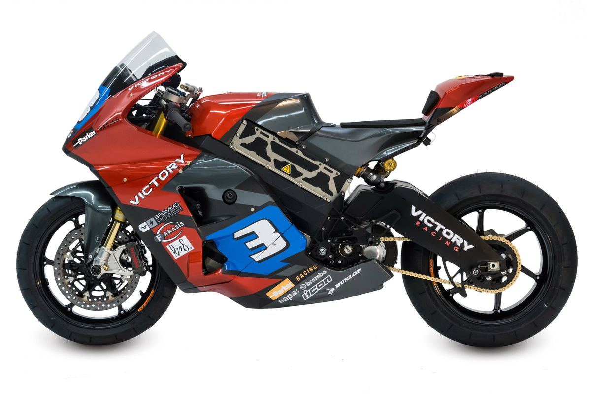 Victory Built An Electric Race Motorcycle For The Insane Isle Of Man