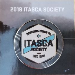 This years Itasca Society item is a lapel pin.