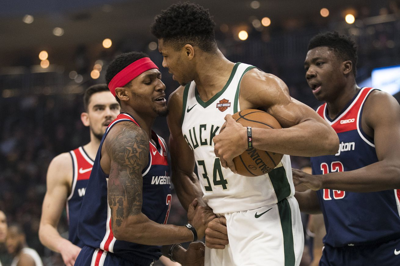 Preview: Wizards host Bucks on Sunday
