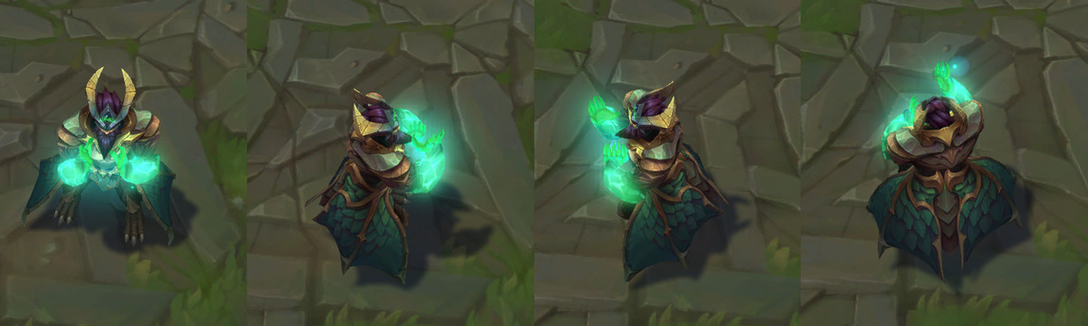 The turnarounds for Dragon Oracle Udyr's Turtle Stance