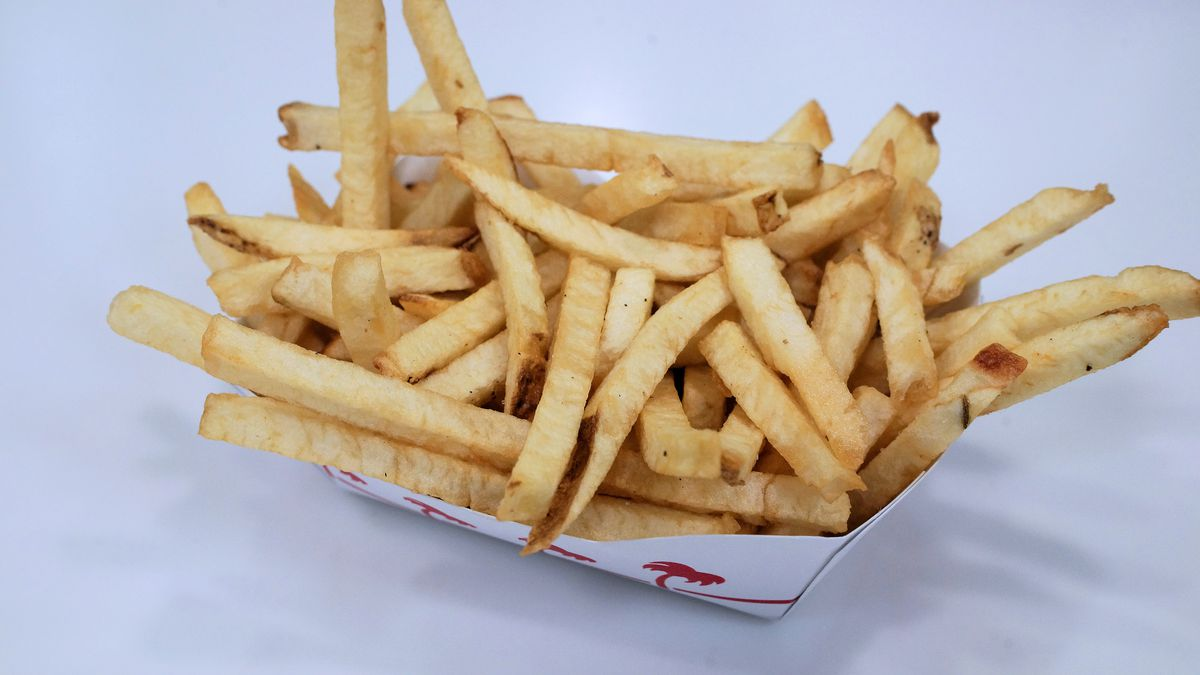 In-N-Out Burger fries