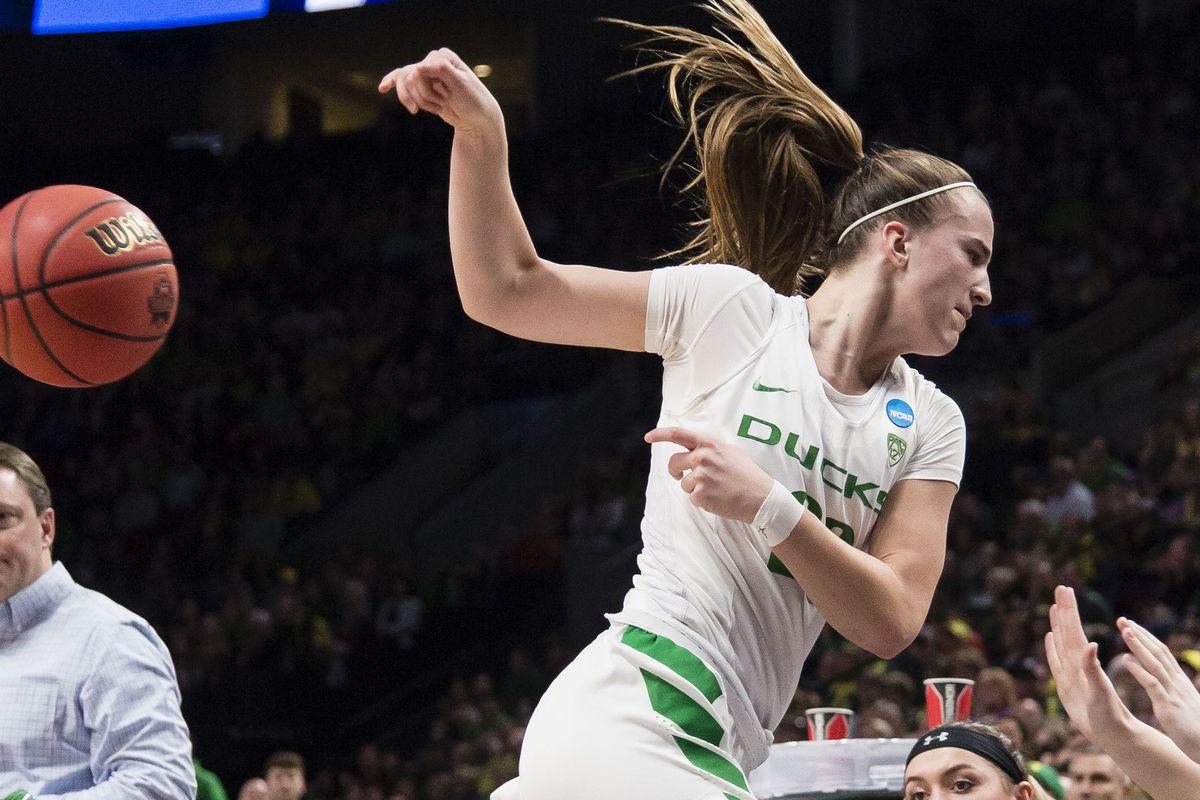 NCAA Womens Basketball: NCAA Tournament-Portland Regional-Oregon vs South Dakota State