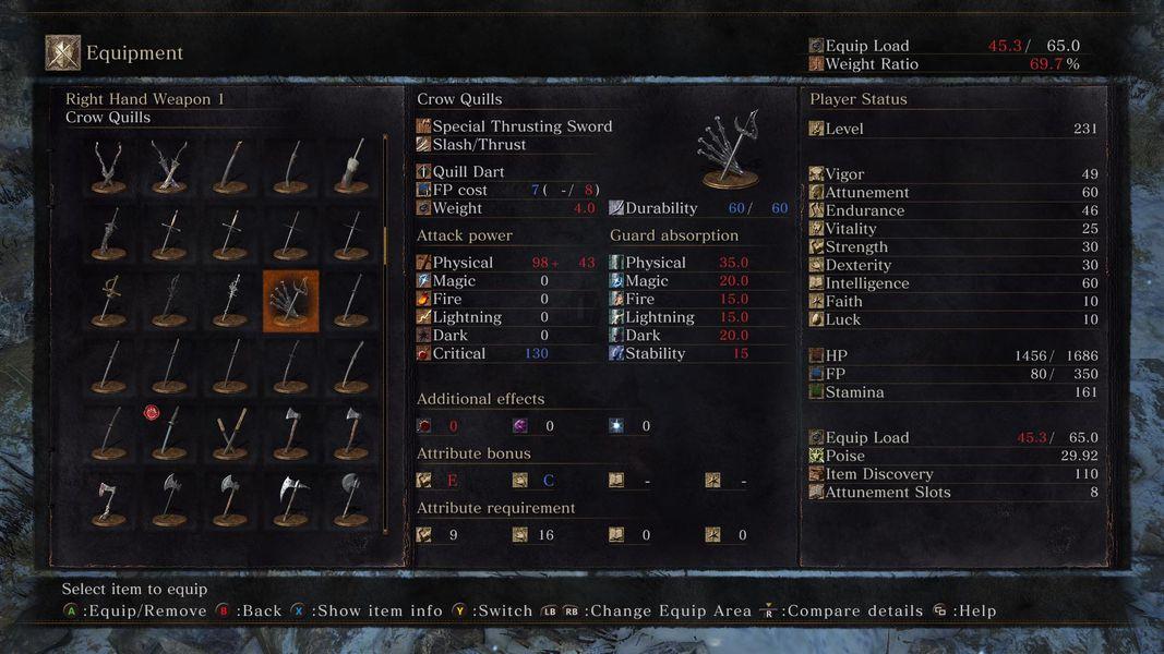 Dark Souls Dex Build Best Weapon