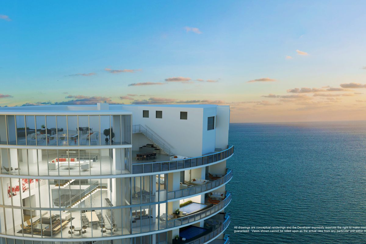 Miami S Porsche Design Tower Penthouse Is Pending Sale