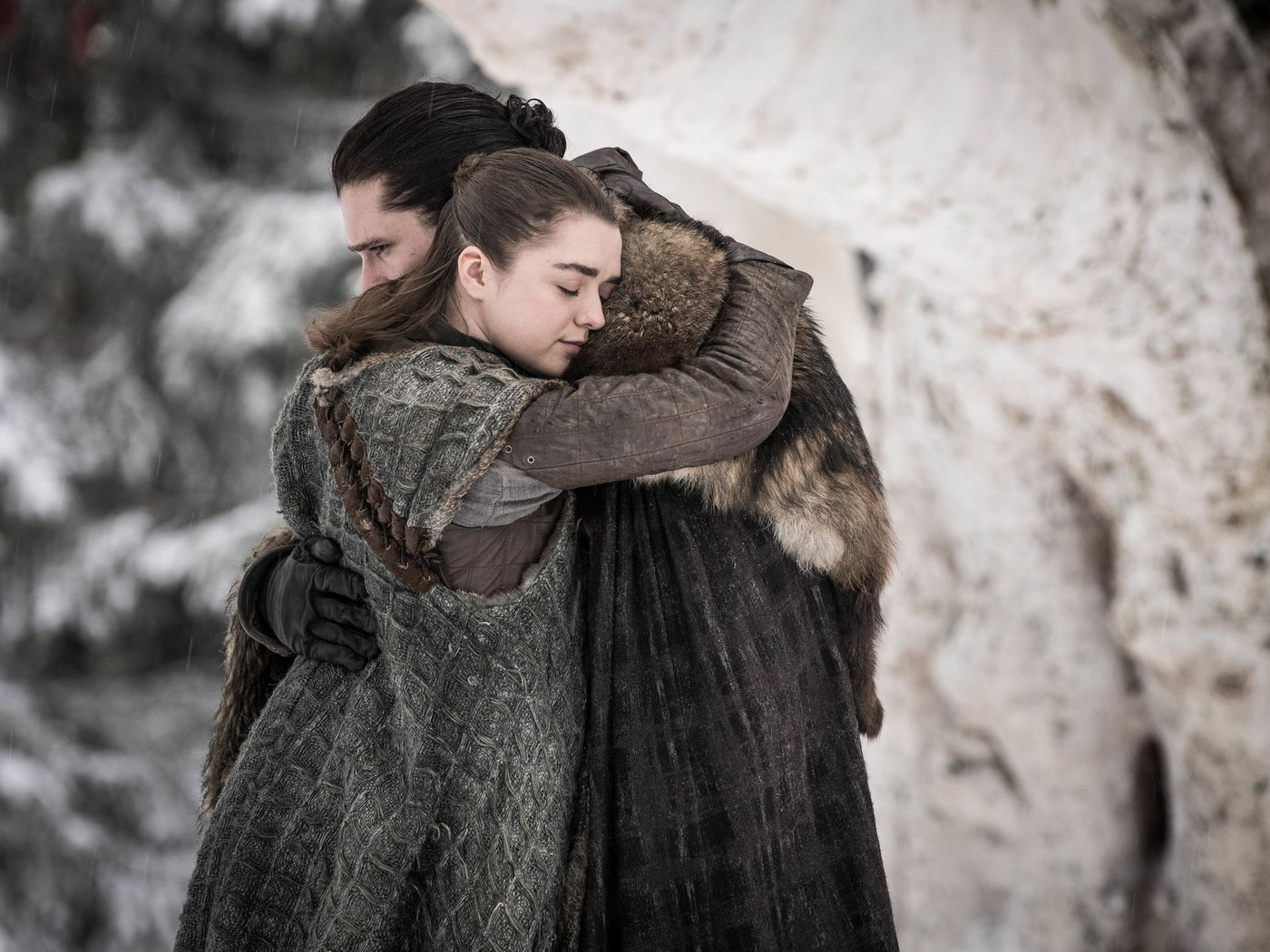 Game of Game of Thrones: season 8, episode 1, Winterfell - The Verge