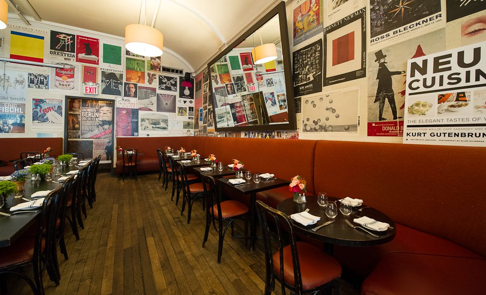 Head To Kurt Gutenbrunner S Tribeca Brerie For Crispy Schnitzels Plump Sausages And Hearty Veal Goulash Blaue Gans Also Has Some Solid Lighter Options