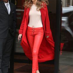 2/16: Walking around NYC. Photo: Fame Flynet.
