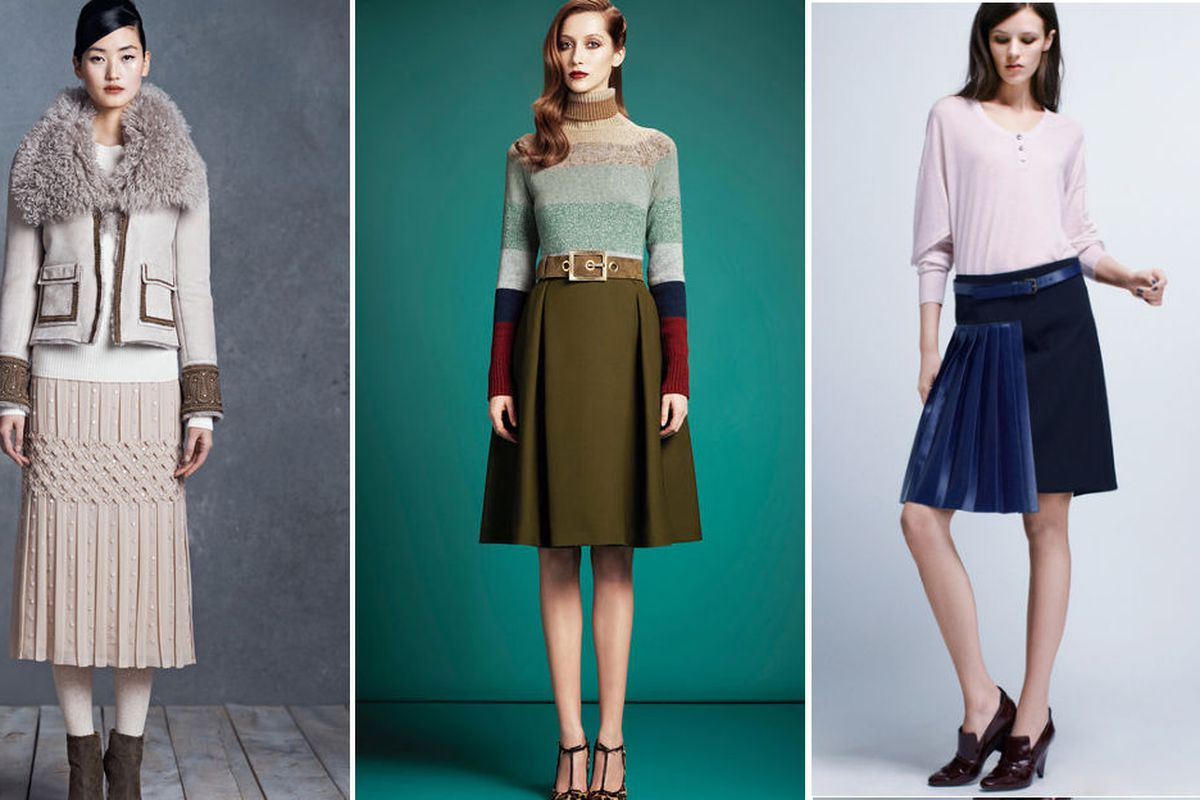 Tory Burch, Gucci, and Derek Lam get their pleat on