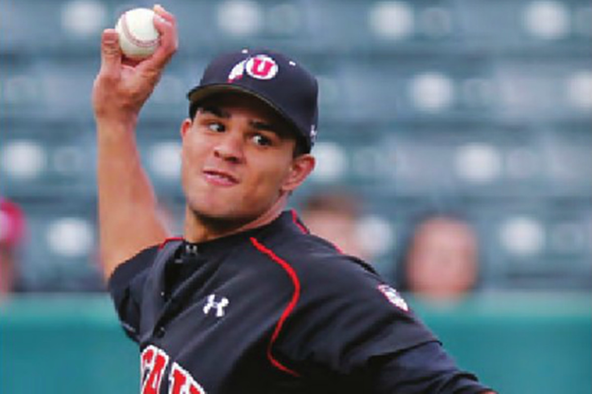 Utah Utes third baseman Dallas Carroll will be counted on this 2015 season to anchor the infield.