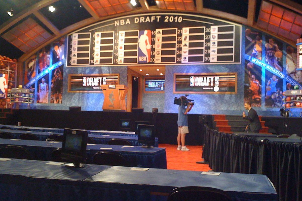 NBA Draft @ MSG (Photo by Tom Martin).