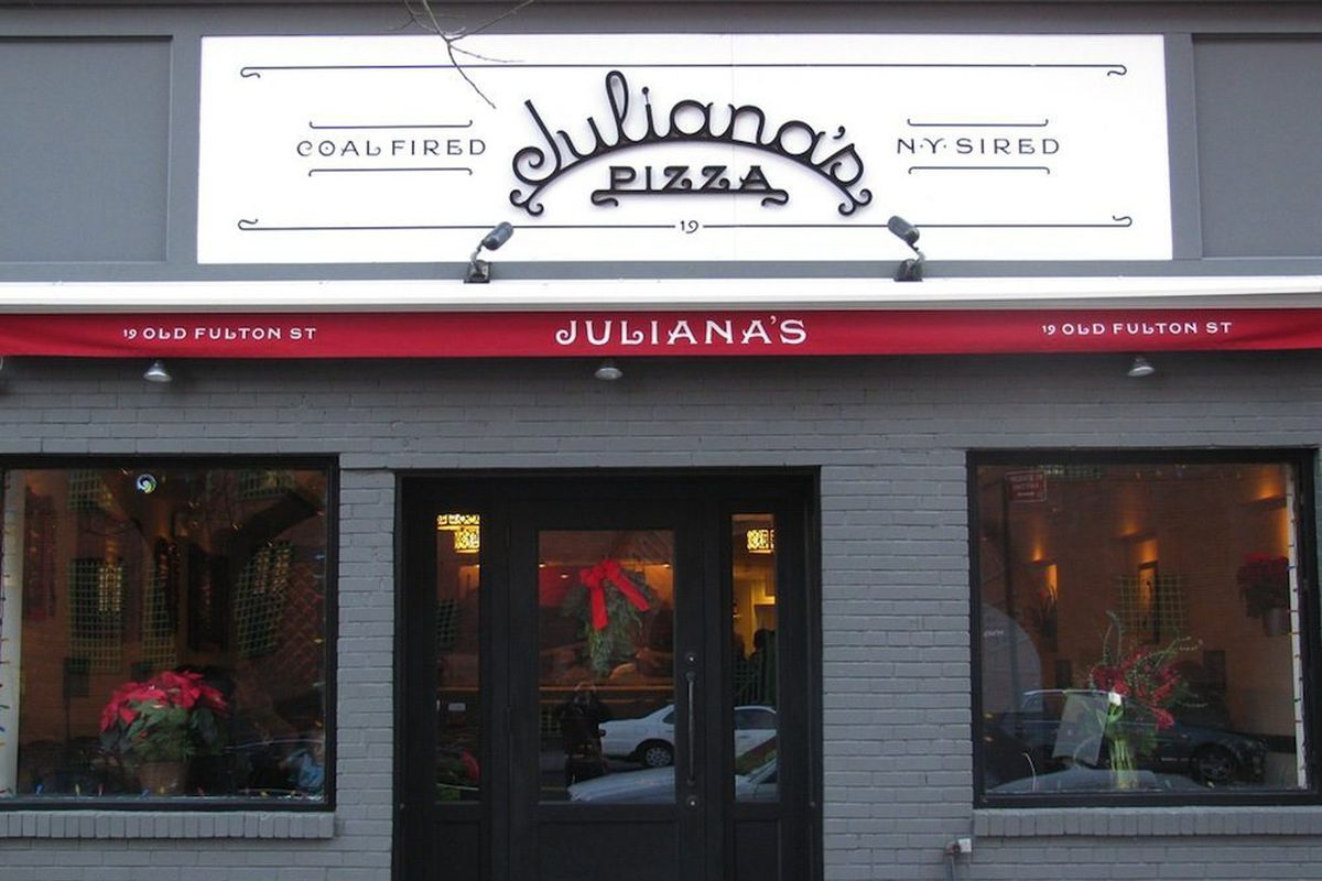 Image result for juliana's pizza
