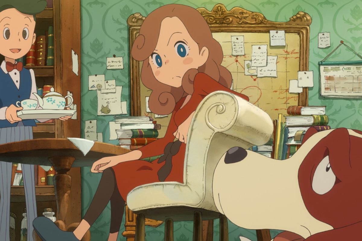 Layton's Mystery Journey: Katrielle and the Millionaires' Conspiracy out on iOS/Android
