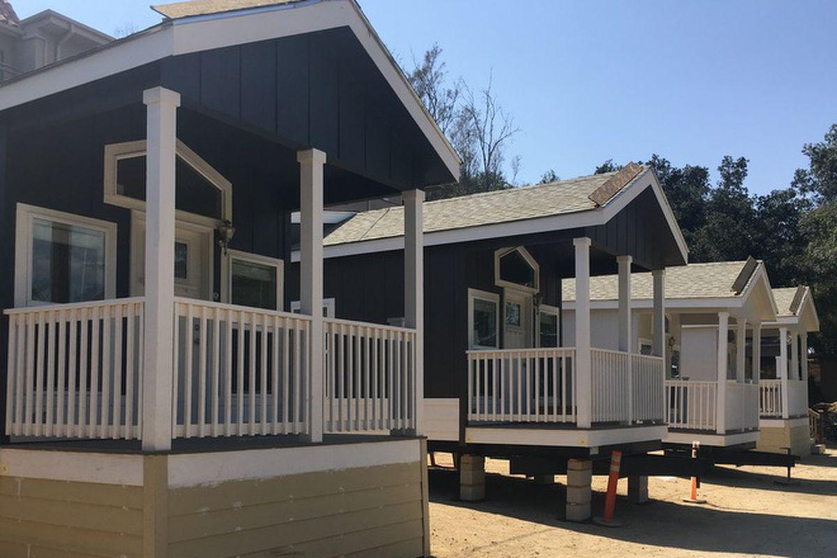 The Row Of New Houses In Monterey Trailer Park Courtesy Eastsider