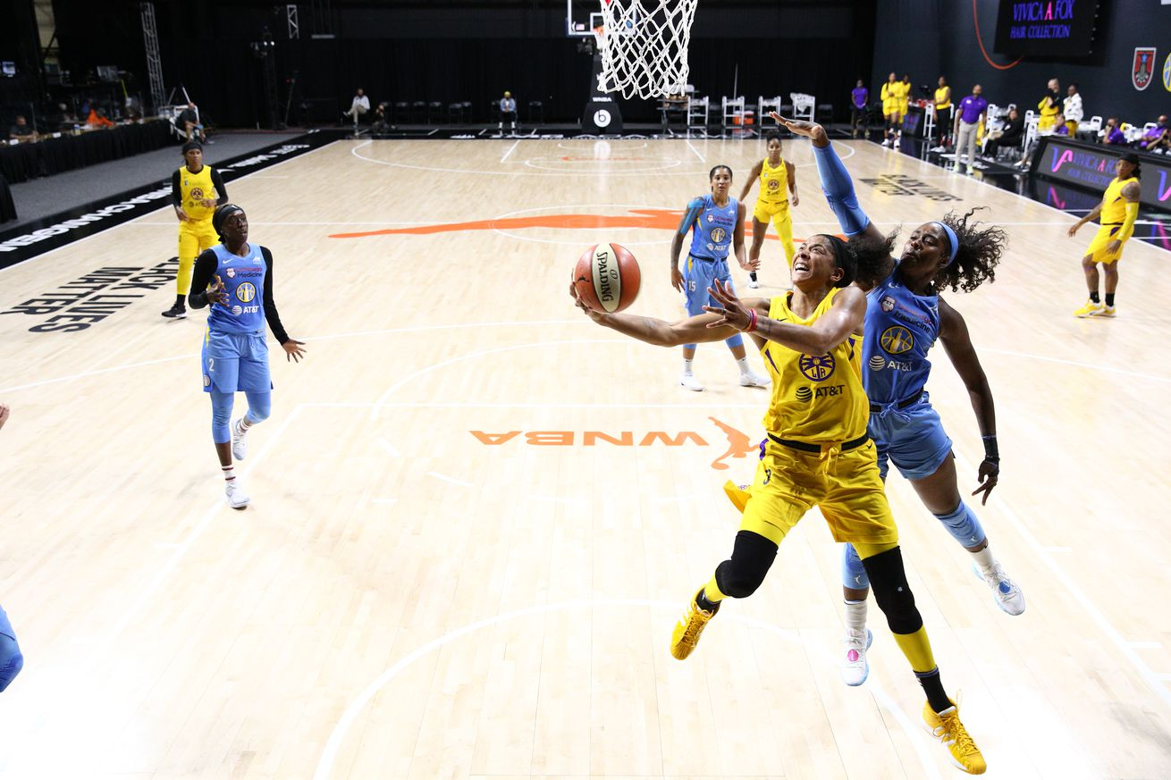 Chicago Sky v Los Angeles Sparks