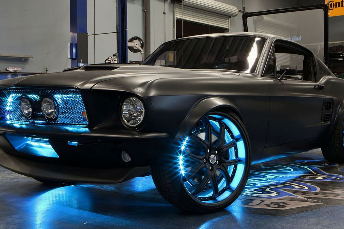 West Coast Customs Cars For Sale >> Microstang Microsoft Helps Build A Custom Mustang Packed With