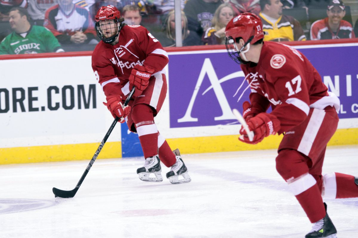 Mark Zengerle and Nic Kerdiles could be a lethal combo for the Badgers next season.