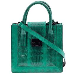 """<b>Loeffler Randall</b> Baby Work Tote in Electric Green, <a href=""""http://piperlime.gap.com/browse/product.do?cid=95368&vid=1&pid=128374002"""">$395</a> at Piperlime"""