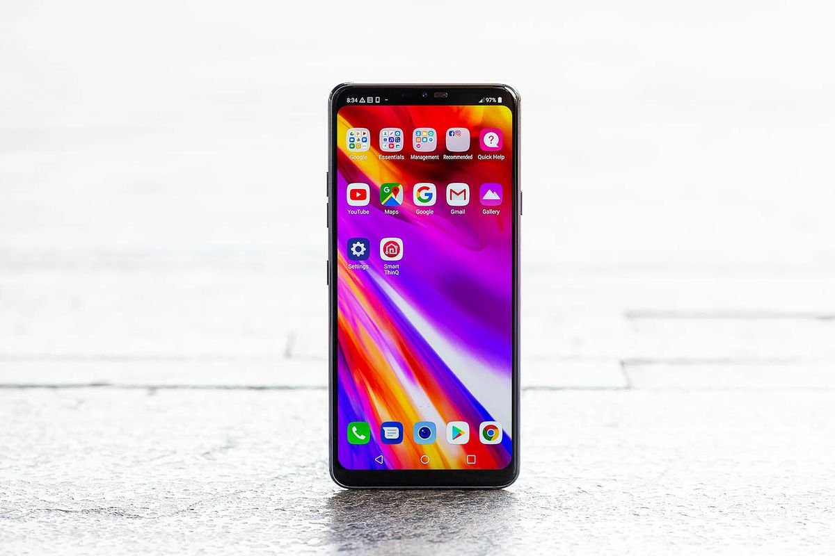 LG's G7 isn't even trying to compete with the best phones