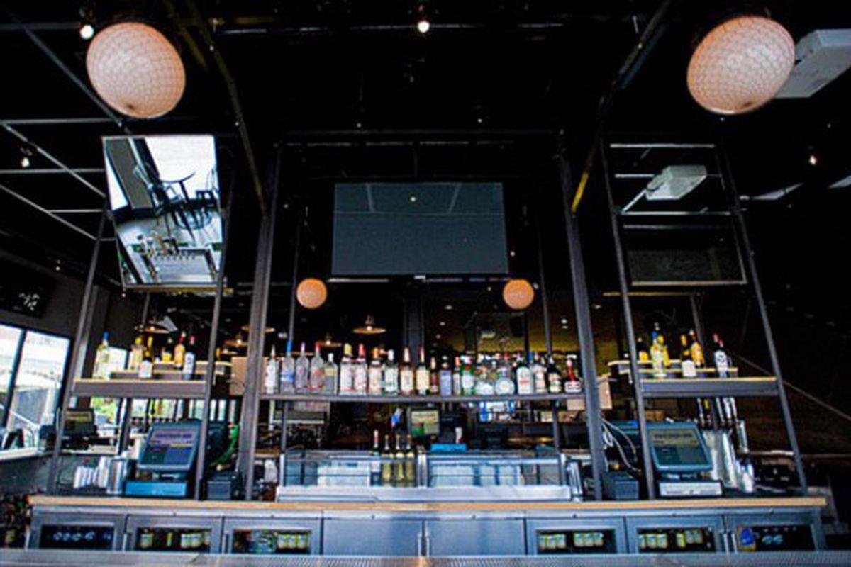 Main bar at Deuce's