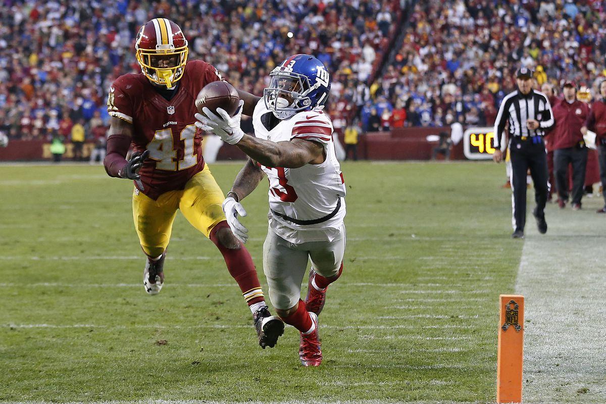 Odell Beckham's touchdown catch vs. Washington