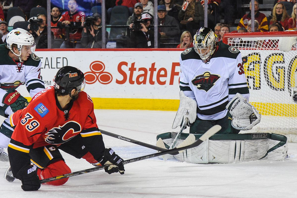 TJ Galiardi landed the first blow that lead to the Minnesota Wild losing tonight.