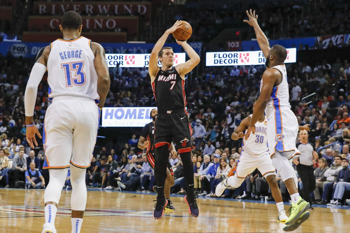 Heat dominate Thunder, win 116-107