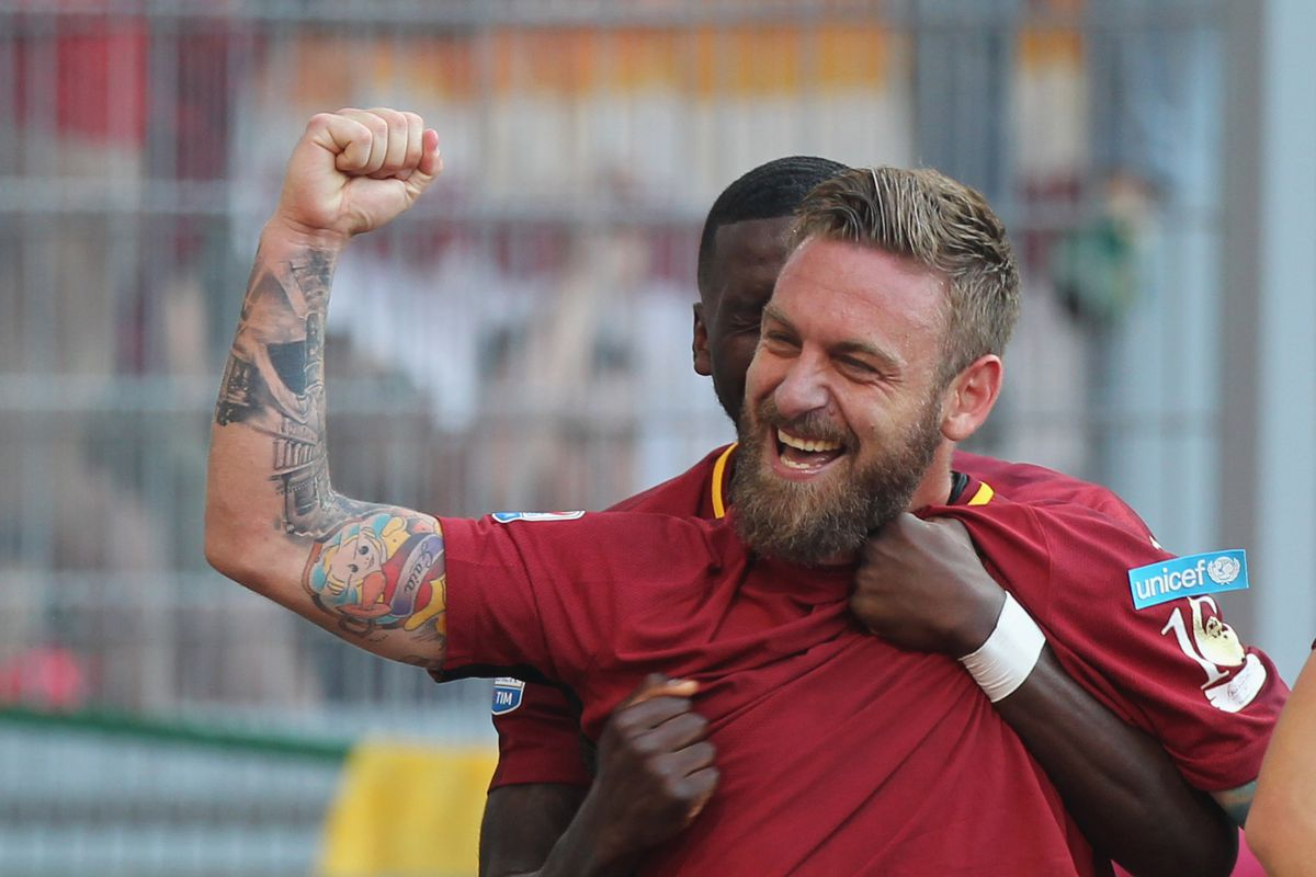 Daniele De Rossi Signs New Two Year Deal with Roma Chiesa Di Totti