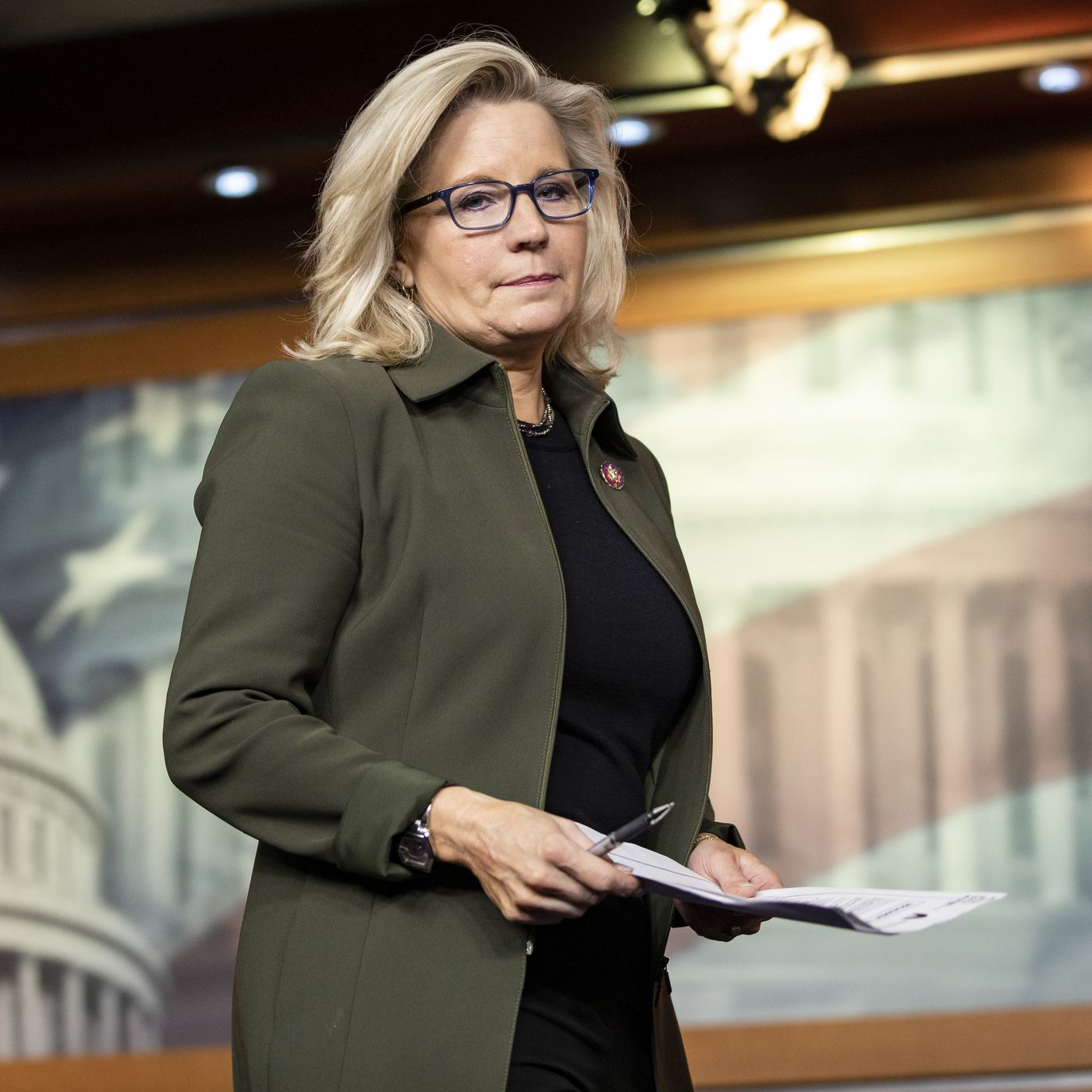 Liz Cheney asks Fox News viewers to reject Trump after being censured by  her state party - Vox