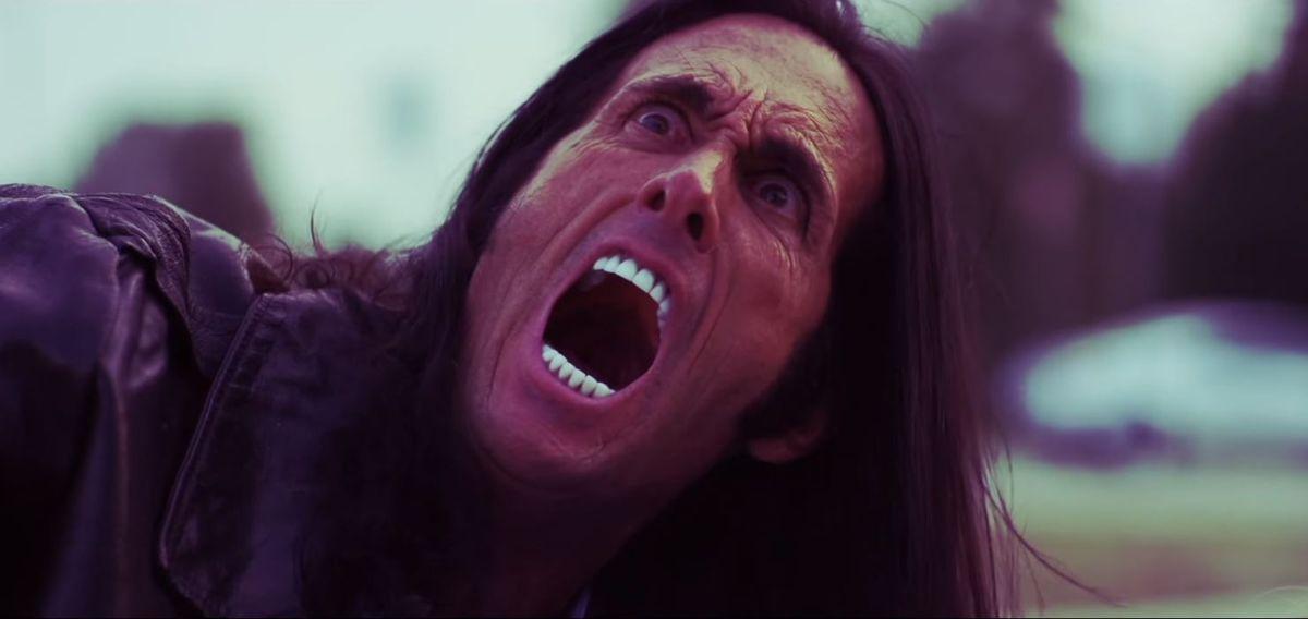 Samurai Cop 2: Deadly Vengeance - man screaming