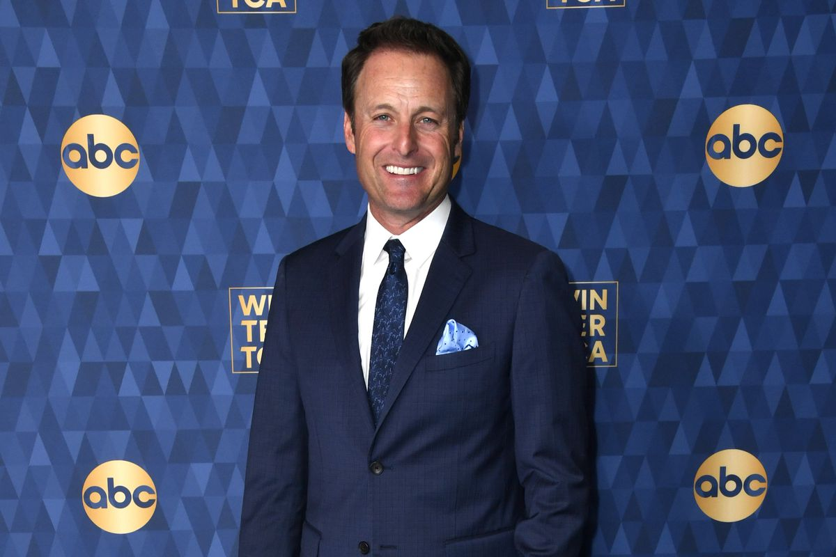 Chris Harrison attends ABC Television's Winter Press Tour in January in Pasadena, California.