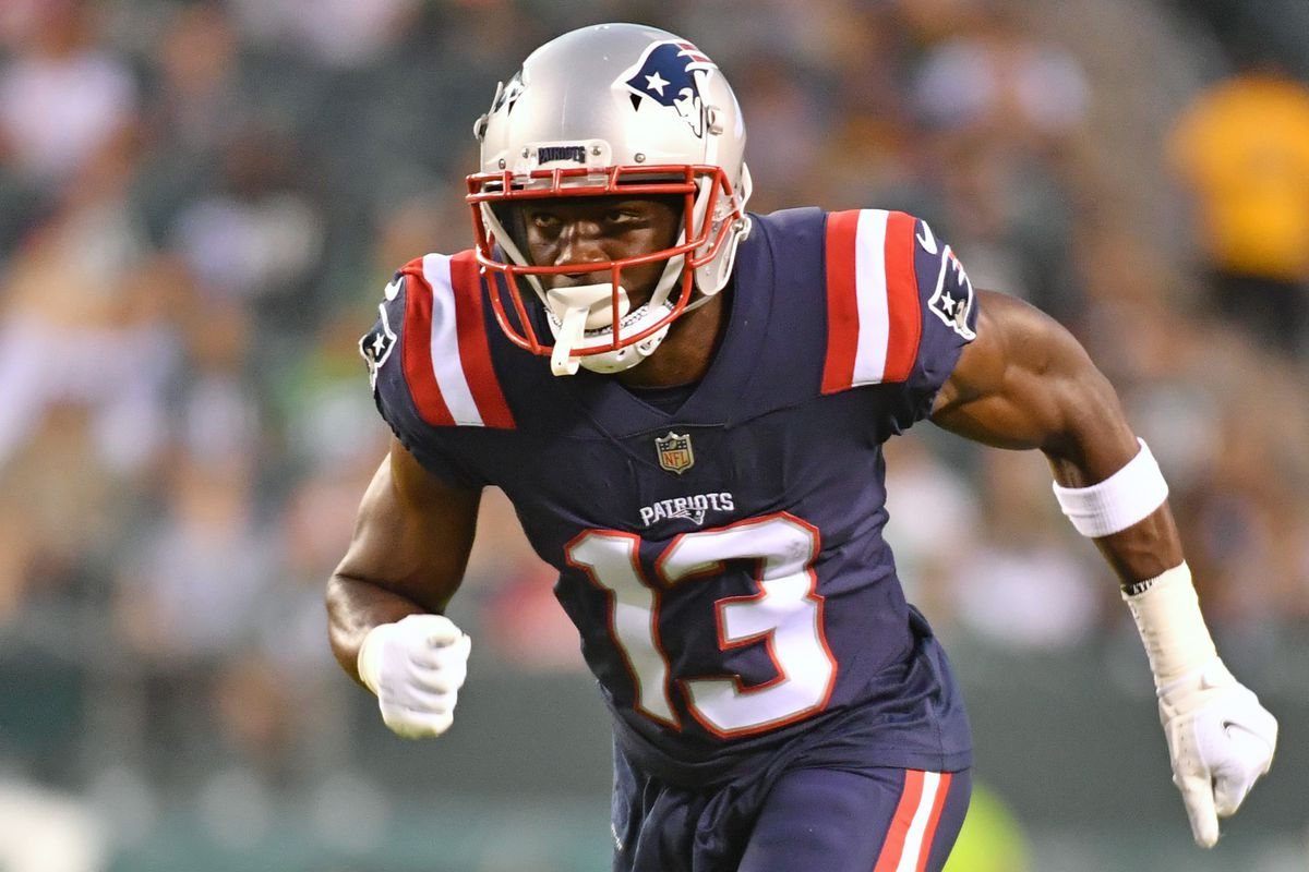 Nelson Agholor injury update: How to handle the Patriots WR vs. Dolphins in  Week 1 - DraftKings Nation