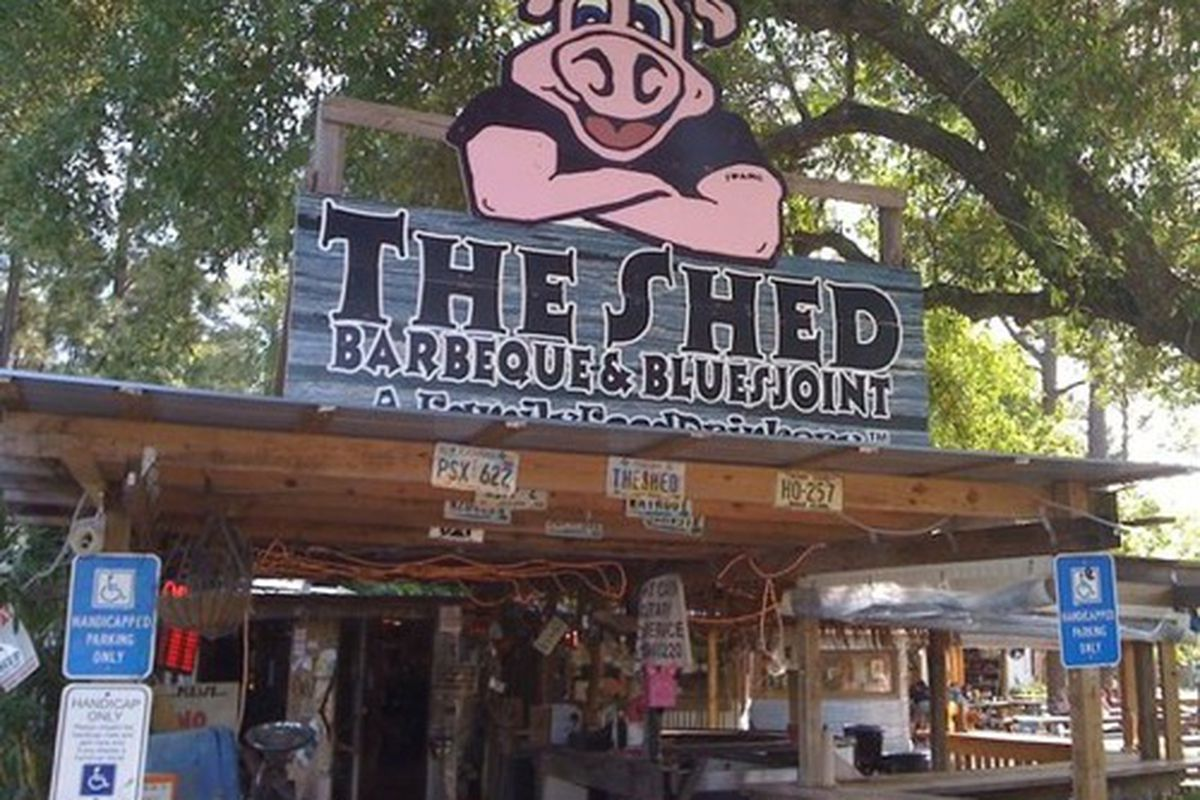 The original Shed location in Ocean Springs, MS.