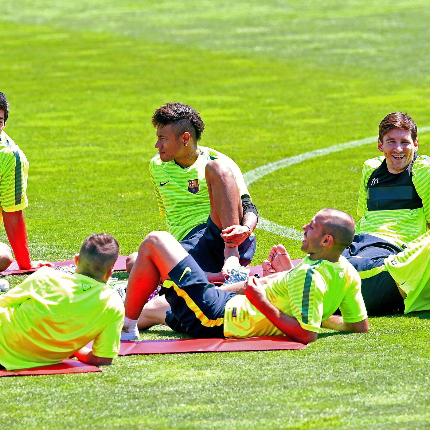 Barcelona Squad Named For Uefa Champions League Final Barca Blaugranes