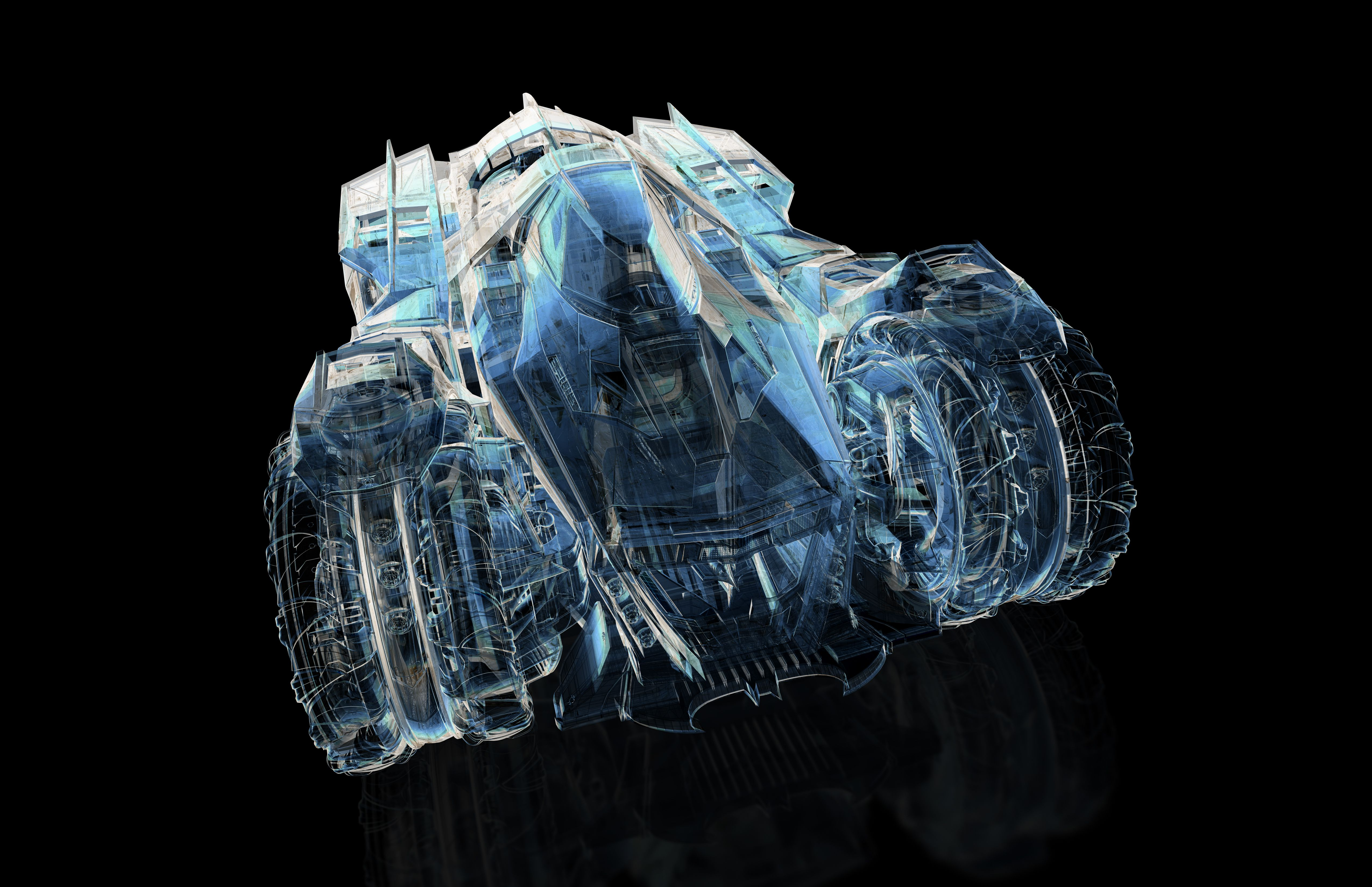 designing the ultimate batmobile for batman arkham knight