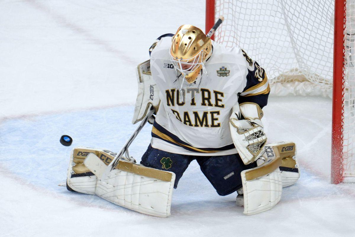 NCAA Hockey: Frozen Four-Minnesota Duluth vs Notre Dame